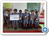 School students drawing competition about the theme