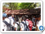 Dr. G. Karunasagaran, Scientist-D interacting with School Students about World Wildlife Day